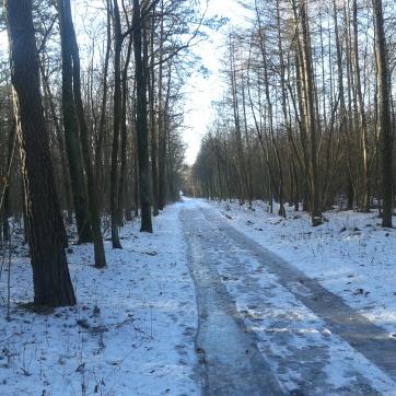 Niełatwe jest zimowe życie rowerzysty...