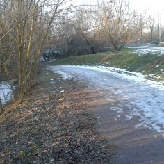 Nadbystrzycka lodowa przeprawa pod Nadbystrzycką ulicą...