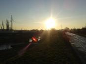 Kiedy słońce nie chciało już patrzeć...