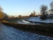 Królowa lubelskich rzek, skuta - nie lodem - a genialną myślą inżynieryjną lat 60-tych ubiegłego stulecia.