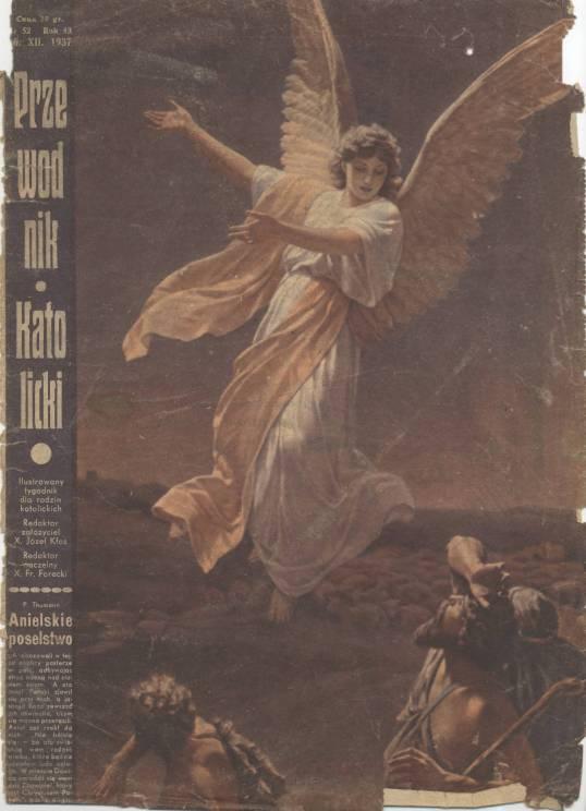 Przewodnik Katolicki 1937, nr 52.Wielkopolska Biblioteka Cyfrowa.