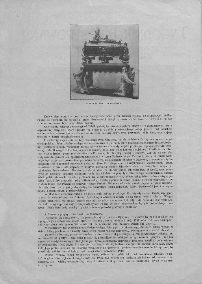 Tygodnik Ilustrowany 1919, nr 1 s. 2.