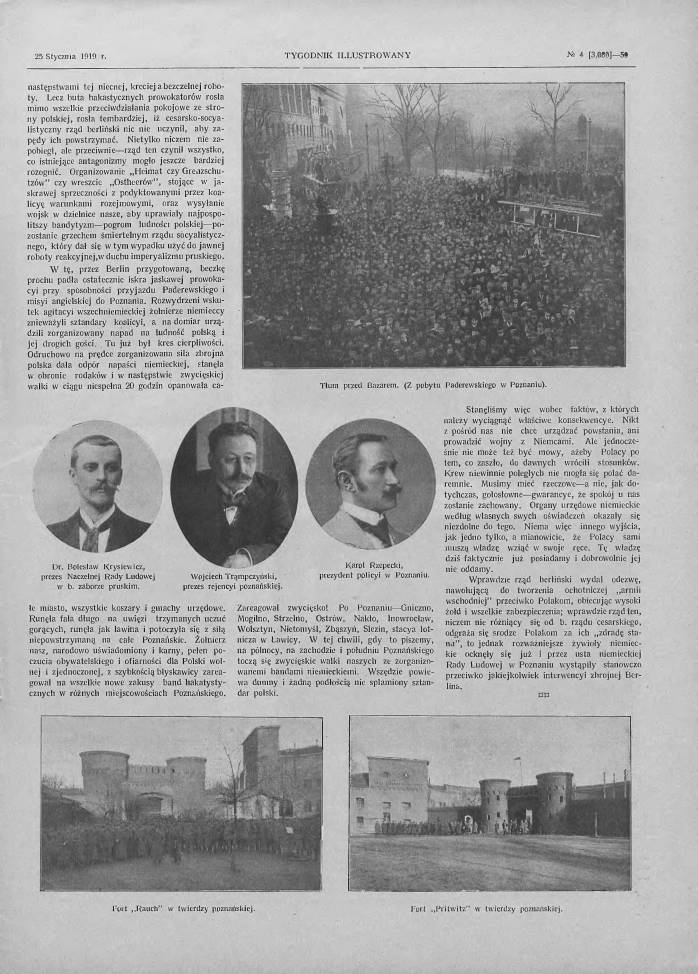 Tygodnik Ilustrowany 1919, nr 4 s 57
