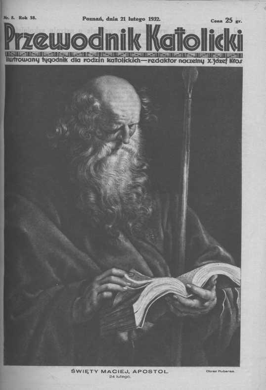 Przewodnik Katolicki 1932, nr Wielkopolska Biblioteka Cyfrowa.