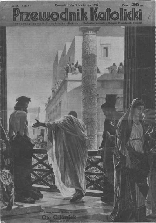 Przewodnik Katolicki 1939, nr 14.Wielkopolska Biblioteka Cyfrowa.