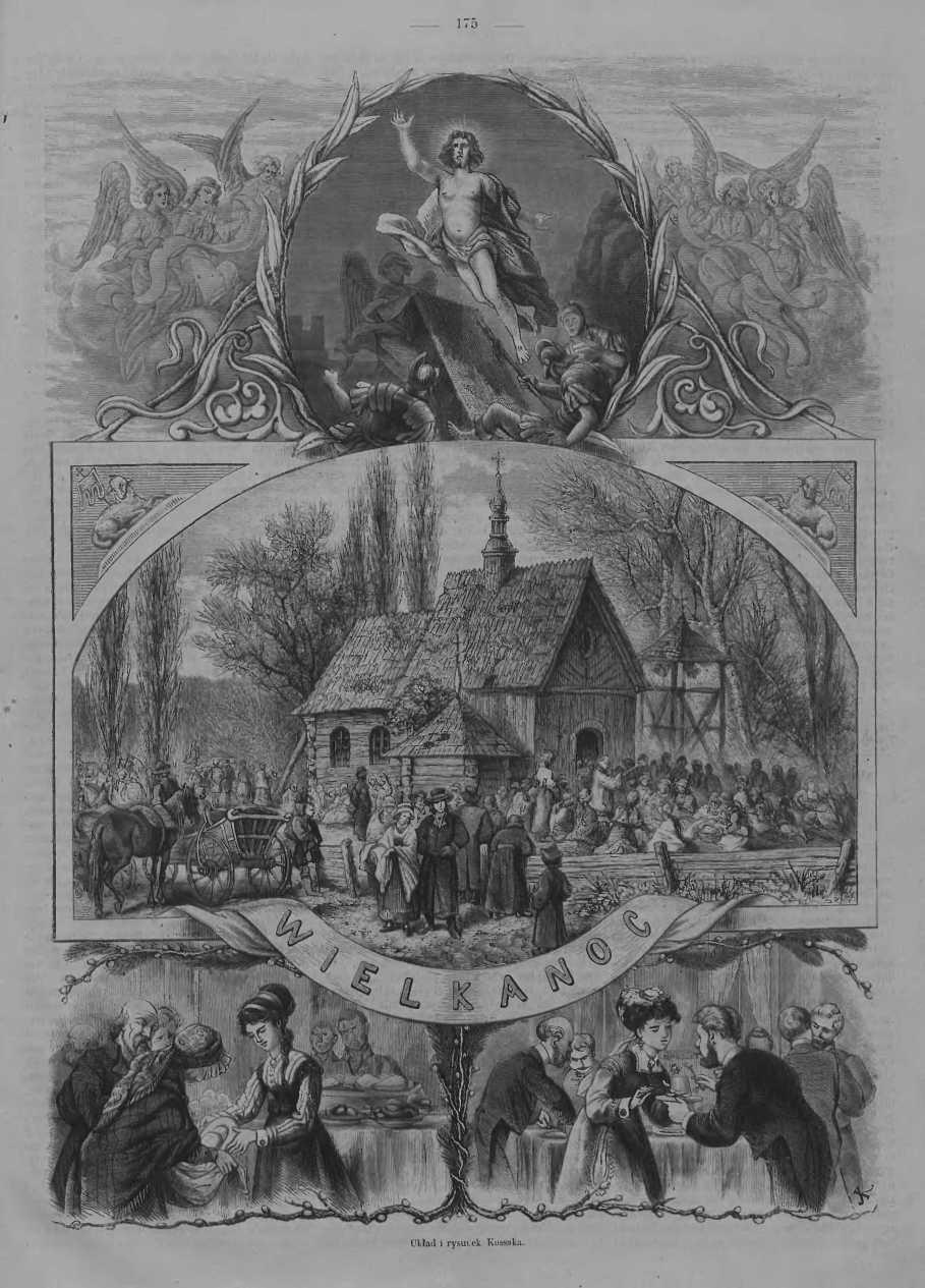 Tygodnik Ilustrowany 1868, nr 15.Biblioteka Cyfrowa Uniwersytetu Łódzkiego.
