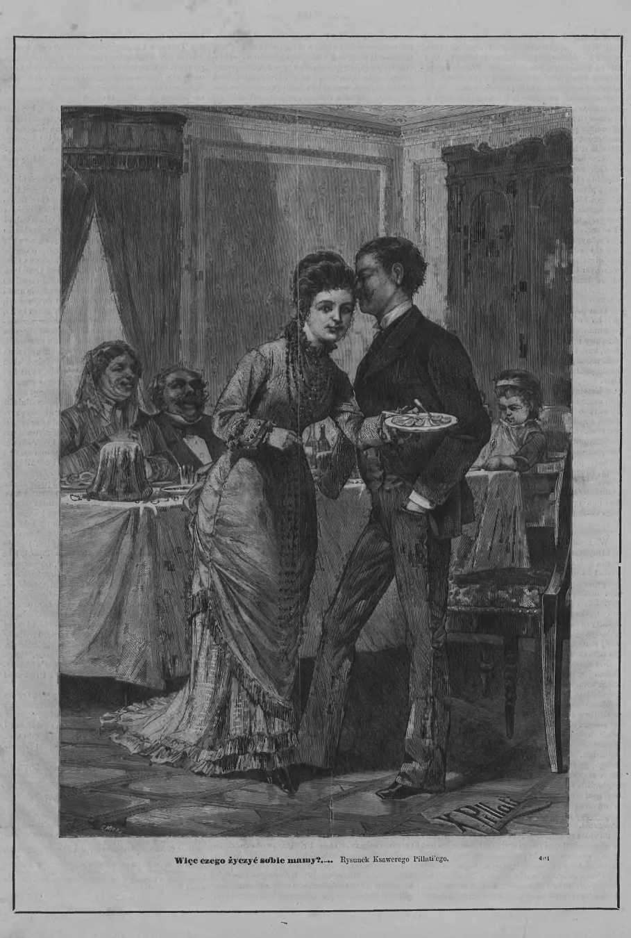 Tygodnik Ilustrowany 1877, nr 66.Biblioteka Cyfrowa Uniwersytetu Łódzkiego.