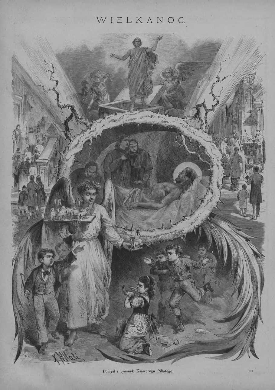 Tygodnik Ilustrowany 1878, nr 121.Biblioteka Cyfrowa Uniwersytetu Łódzkiego.