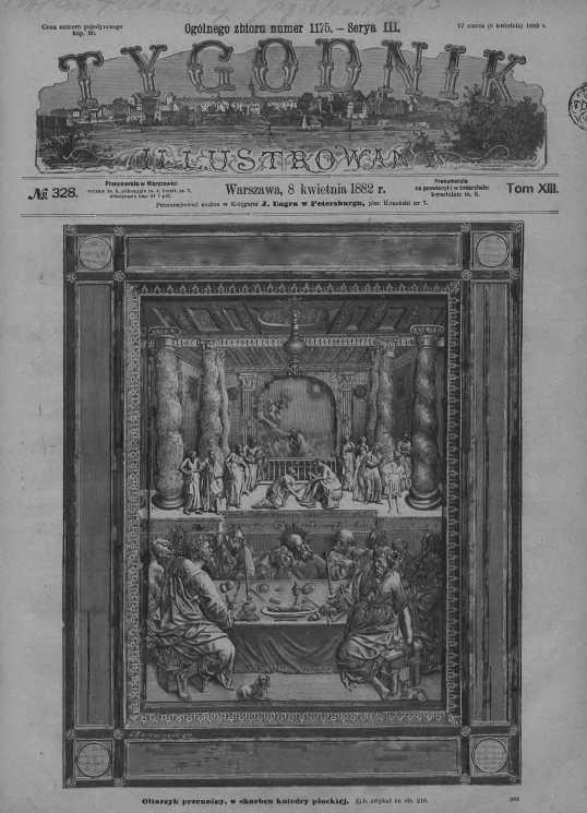 Tygodnik Ilustrowany 1882, nr 328.Biblioteka Cyfrowa Uniwersytetu Łódzkiego.