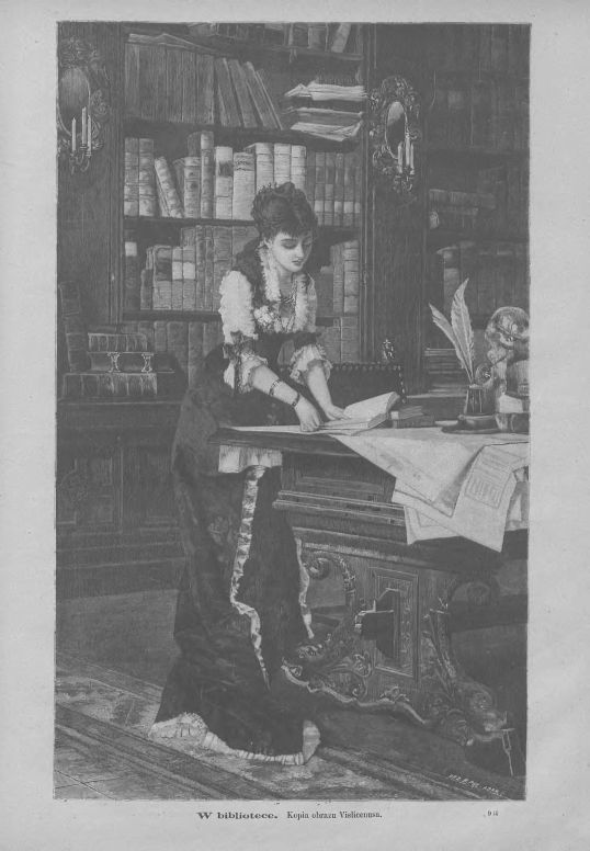 Tygodnik Ilustrowany 1881, nr 327.Biblioteka Cyfrowa Uniwersytetu Łódzkiego.
