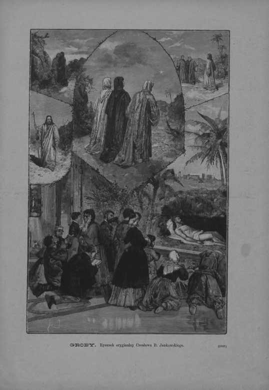 Tygodnik Ilustrowany 1886, nr 173.Biblioteka Cyfrowa Uniwersytetu Łódzkiego