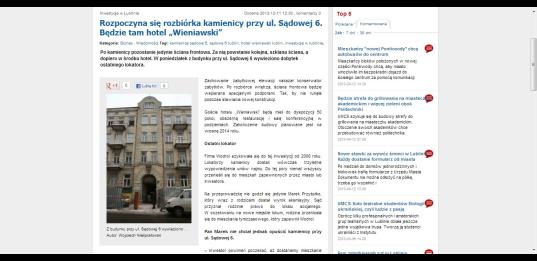 ...dzisiaj mmlublin.pl