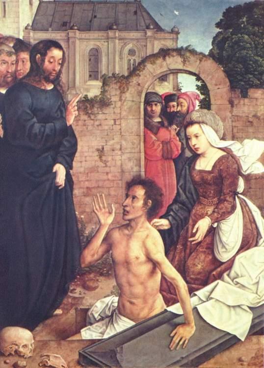 """Juan de Flandes (1460–1519), """"Wskrzeszenie Łazarza"""" Wikimedia Commons – repozytorium wolnych zasobów"""