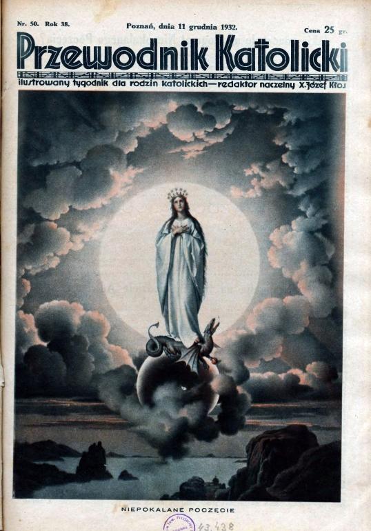 Przewodnik Katolicki 1932, nr 50. Wielkopolska Biblioteka Cyfrowa.