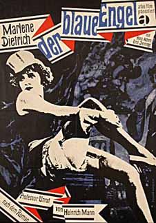 """""""Niebieski motyl"""" (albo """"Błękitny anioł"""", Der blaue Engel, rok. prod. 1930)"""