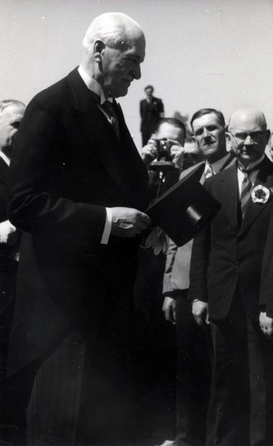 Pan Prezydent z wizytą na Lubelszczyźnie w maju roku 1939.
