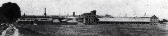 Fabryka samolotów E. Plage i T. Laśkiewicz w Lublinie.