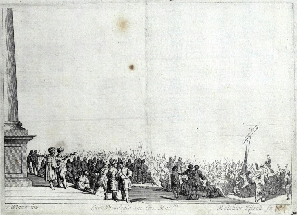 Johan Wilhelm Baur, Przygotowanie do ukrzyżowania, 1670.