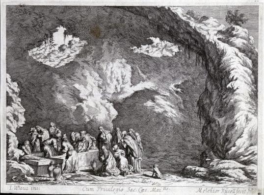 Johan Wilhelm Baur, Złożenie do grobu, 1670.