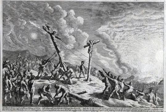 Johan Wilhelm Baur, Ukrzyżowanie Pana Jezusa, 1670.